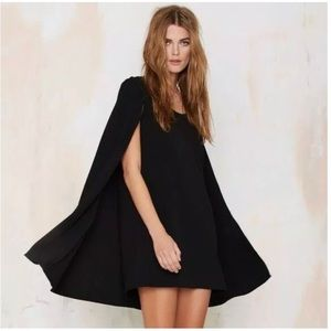 Nasty Gal Catherine Cape Dress